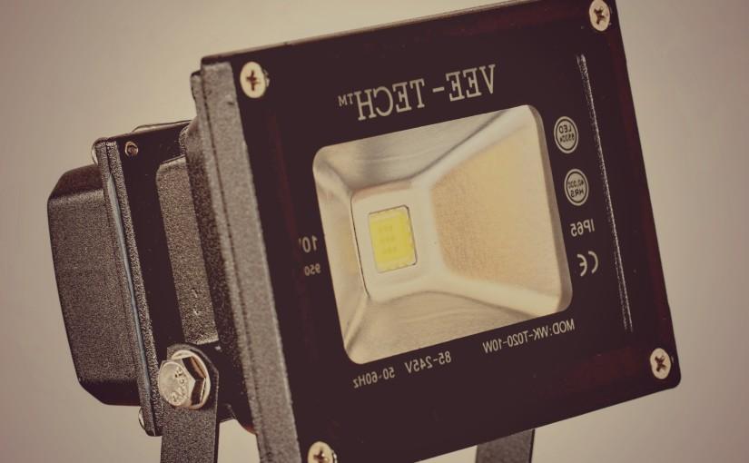 L'éclairage LED pour un extérieur chic et épuré