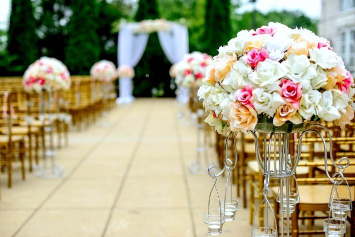Bouquets de roses multicolors