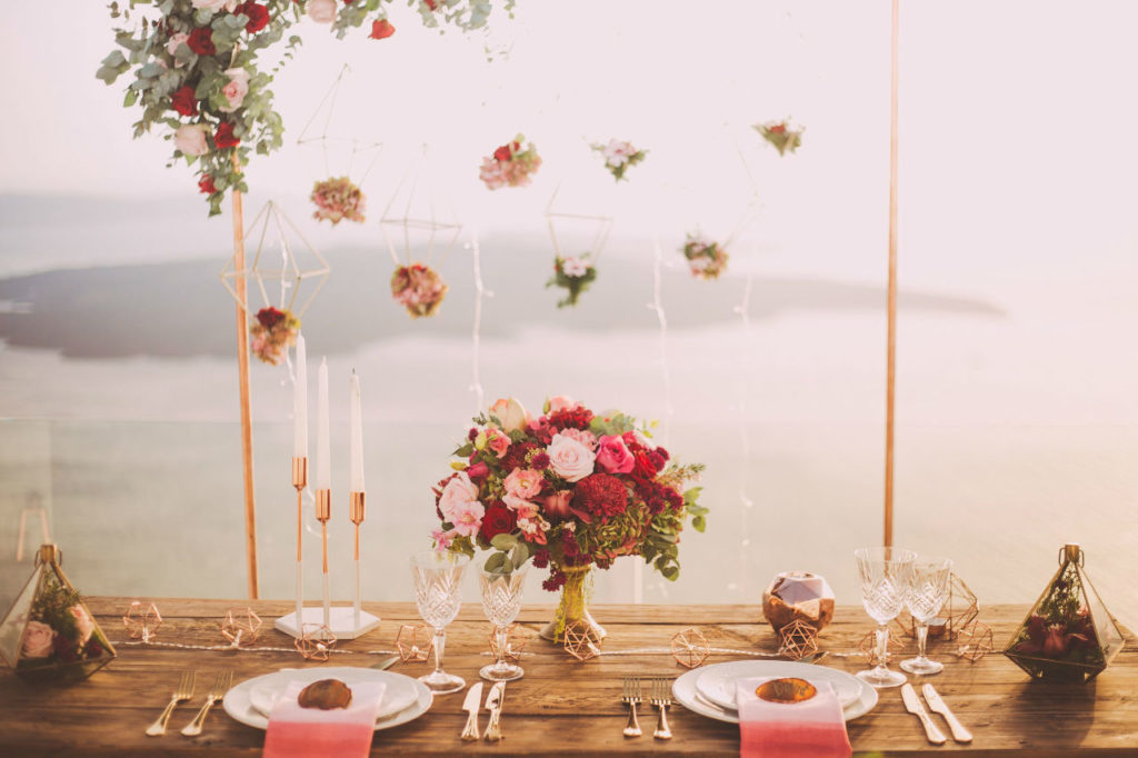 table mariage decoration